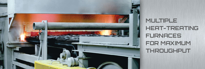 02 Multiple Heat-Treating Furnaces for Maximum Throughput